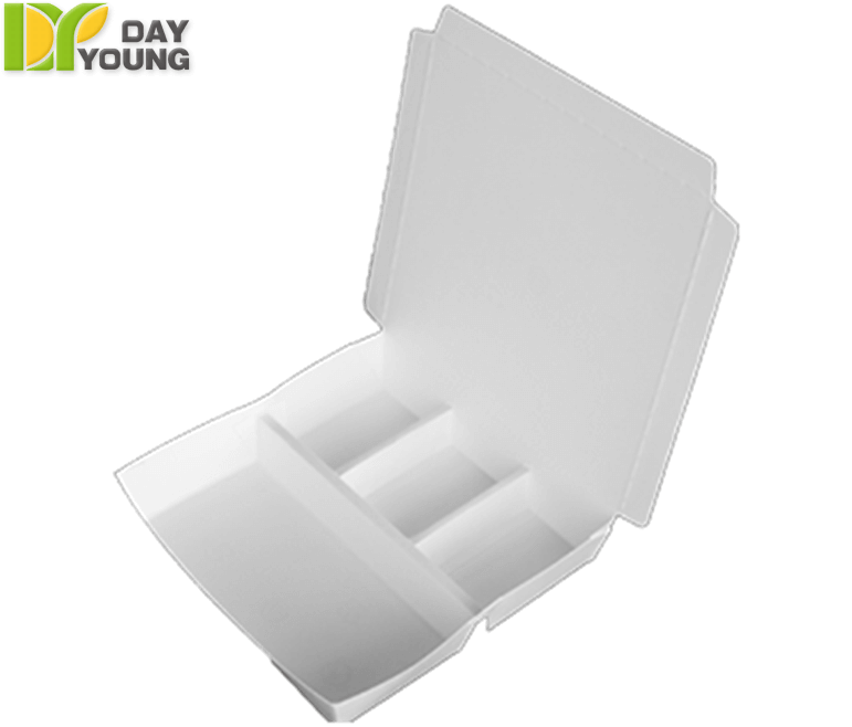 Safe Food Storage Containers|Horizontal Divide Box 402W|Disposable Cups Manufacturer and Supplier - Day Young, Taiwan