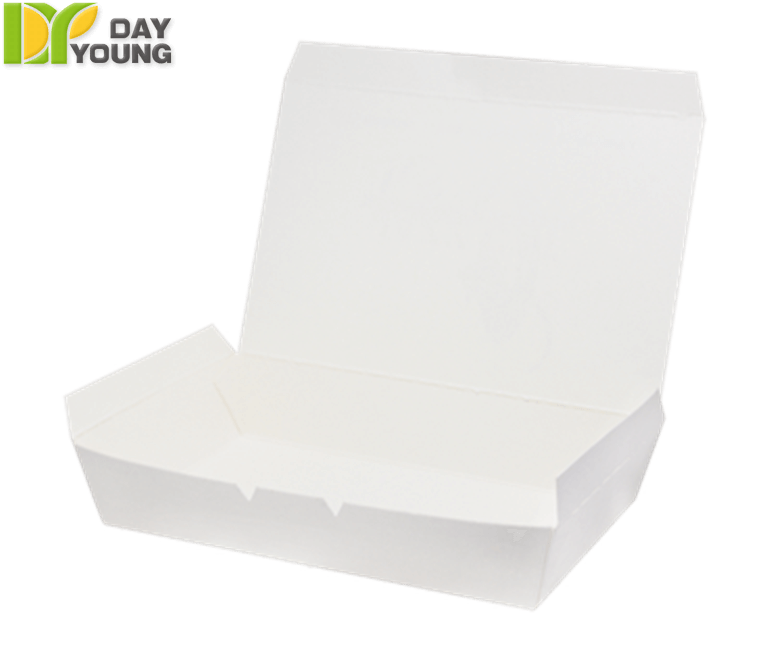 Dry Food Containers|Large Meal Box (1-Lock)|Paper Food Containers Manufacturer and Supplier - Day Young, Taiwan