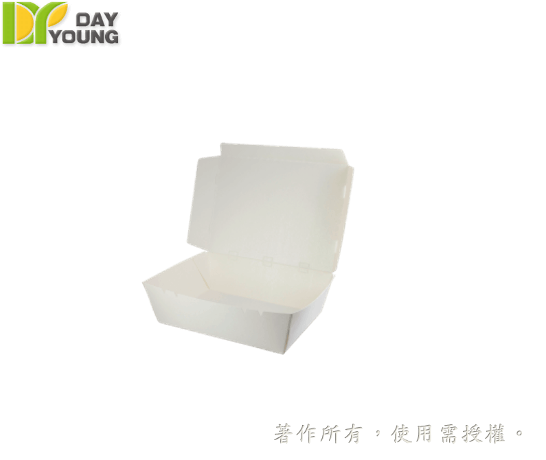 Paper Meal Box|Large Meal Box (4-Lock & Air Vent)|Paper Meal Box Manufacturer and Supplier - Day Young, Taiwan