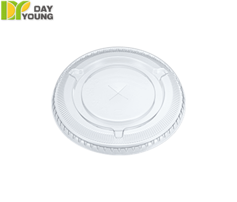 Plastic Cups | Plastic Cups With Lids | Plastic Clear PET Flat Lids 92mm | Plastic Cups Manufacturer & Supplier - Day Young, Taiwan