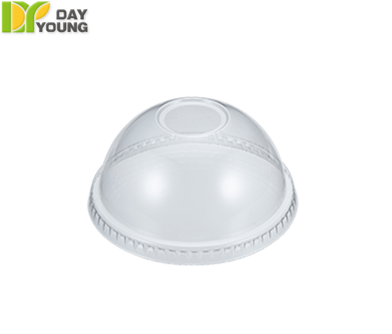 Plastic Cups | Paper Coffee Cups With Lids | Plastic Clear PET Dome Lids 92mm | Plastic Cups Manufacturer & Supplier - Day Young, Taiwan