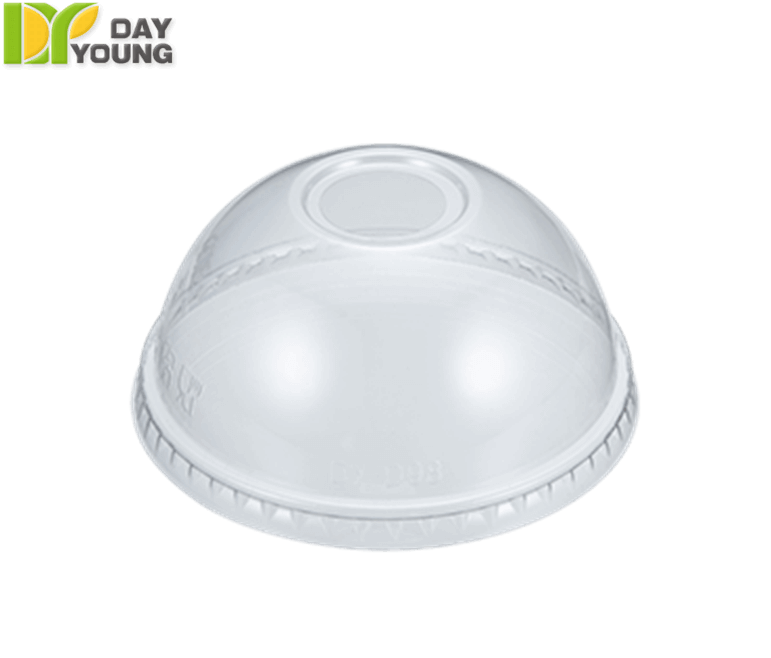 Plastic Cups | Disposable Cups With Lids | Plastic Clear PET Dome Lids 98mm | Plastic Cups Manufacturer & Supplier - Day Young, Taiwan