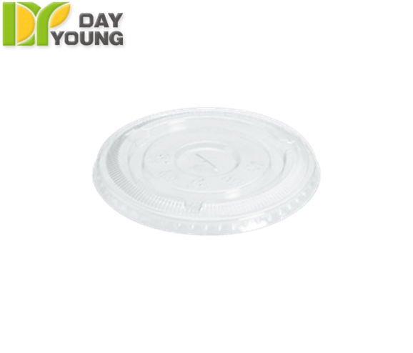 Plastic Cups | Clear Plastic Cups With Lids | Plastic Clear PS Flat Lids 95mm | Plastic Cups Manufacturer & Supplier - Day Young, Taiwan