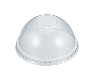 Plastic Cups | Disposable Coffee Cups With Lids | Plastic Clear PS Dome Lids 95mm | Plastic Cups Manufacturer & Supplier - Day Young, Taiwan