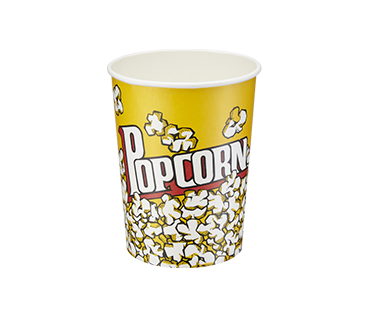 Paper Popcorn Cups 32oz (Tall)