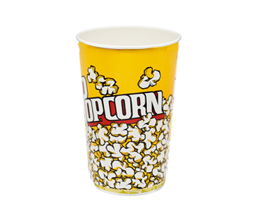 Paper Popcorn Cups 46oz (Tall)