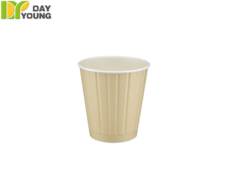 Disposable Cups For Hot Drinks|Paper Double Wall Hot Drink Coffee Cup 8oz|Disposable Cups Manufacturer and Supplier - Day Young, Taiwan