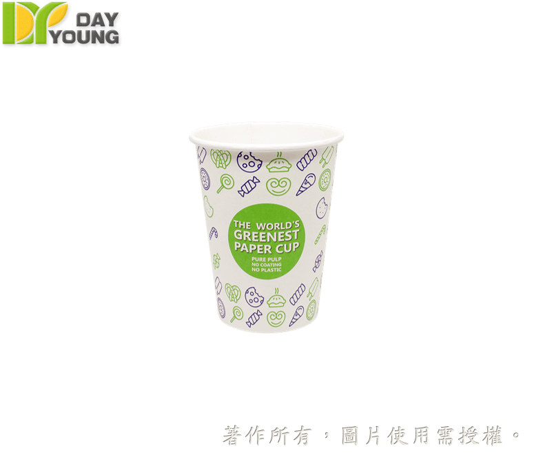 Eco Paper Cold Cup 12oz(PE Free)